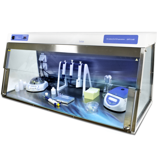 UVC/T-AR, DNA/RNA UV-cleaner box
