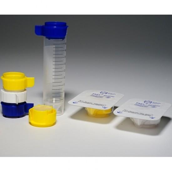 100 μm Cell Strainer, Regular membrane filter, yellow, sterile